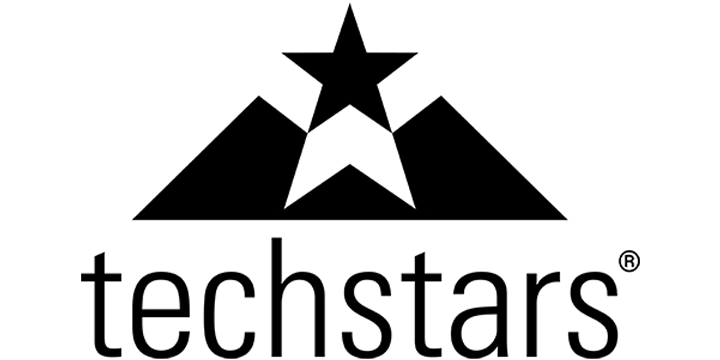 logo techstars preto transparente